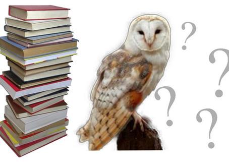 Book Birds - book quiz #2