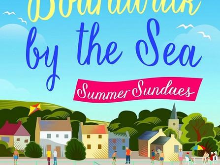 Holiday Reading #5 Georgina Troy - The Boardwalk by the Sea