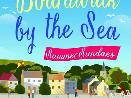 Holiday Reading #5 Georgina Troy - The Boardwalk by the Sea