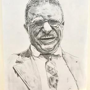 Teddy Roosevelt by Lucy Jimenez