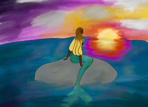 Sunrise Mermaid by Josie Troppoli