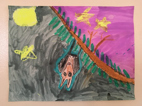 Fruit Bat By Spencer Zimmerman