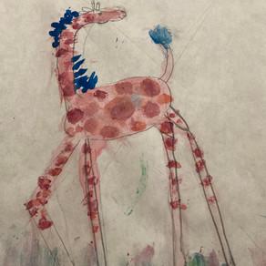 Giraffe by Priscilla Liang