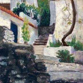 Greek Village by Sally Ishizaka
