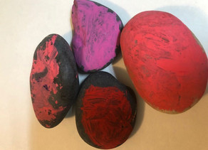 Rocks by Leo Mead, age 4