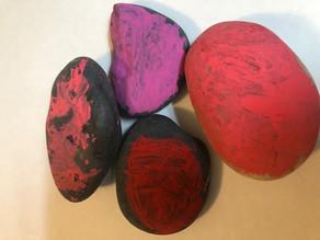 Rocks by Leo Mead, age 4