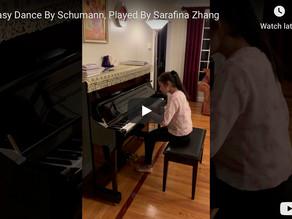Schumann Fantasy Dance by Sarafina Zhang