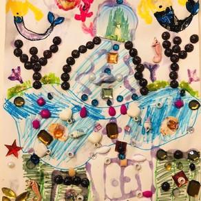 Atlantis by Fiona Mead, age 7