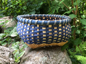 Cat's Head Reed Basket by Betsy Fell