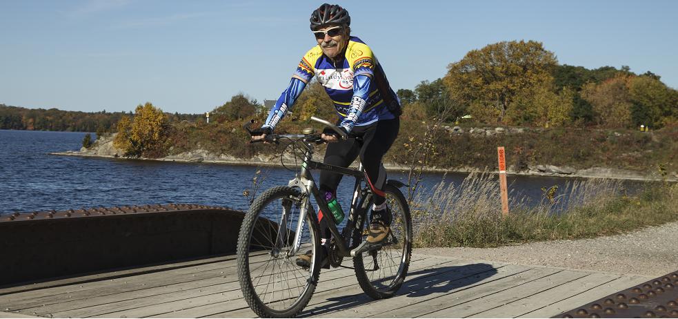 Bike the K&P Trail