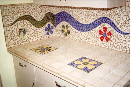 Flower Power Kitchen - 2
