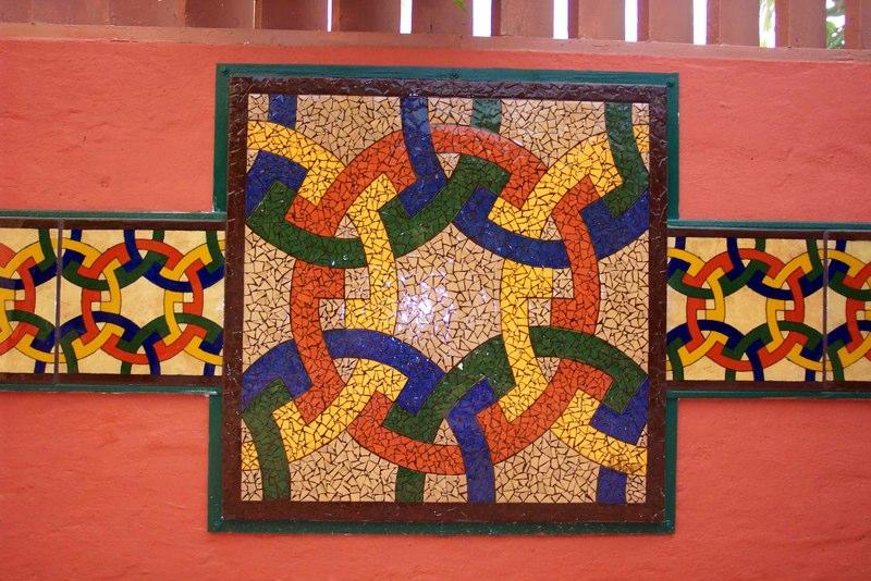 Morrocan Inspired Courtyard