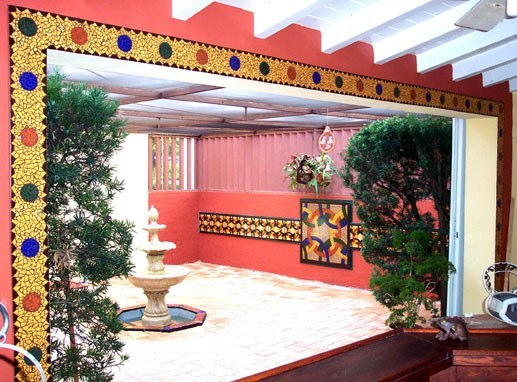 The Morrocan Inspired Courtyard
