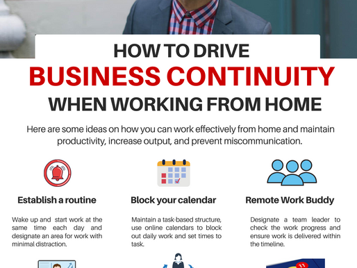 How to drive business continuity when working from home