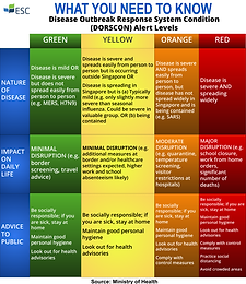 What You Need to Know About the Disease Outbreak Risk System Condition (DORSCON) Alert Levels