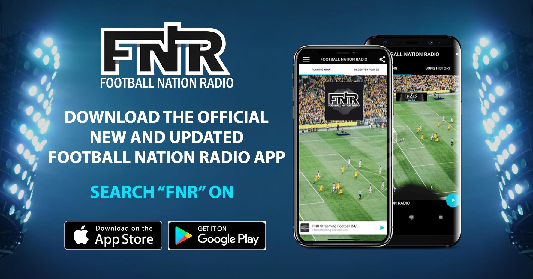New FNR APP Promo