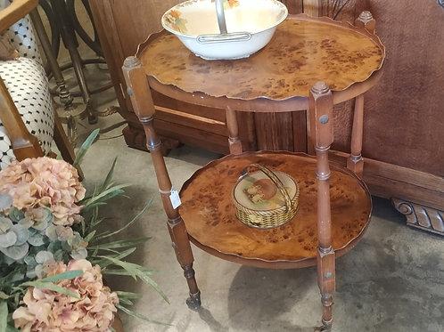 שולחן קפה אנגלי 2 קומות