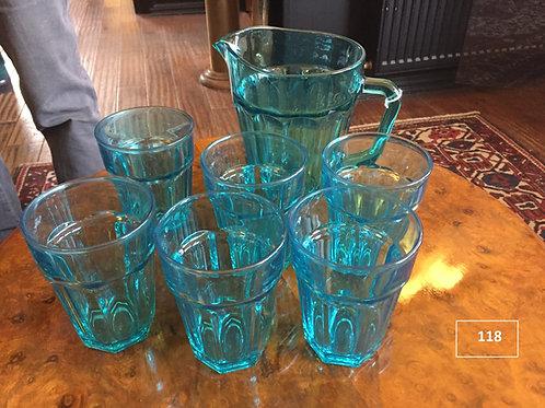 קנקן + 6 כוסות