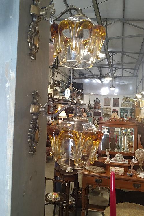 זוג מנורות קיר