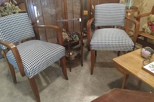 זוג כסאות ברידג