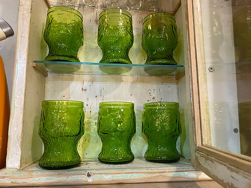 כוסות זכוכית 6 יחידות