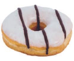Donuts blanco - negro
