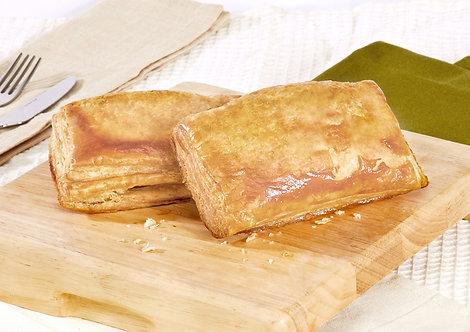 Empanada jamón queso hoja