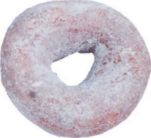 Mini donut cake azucarado