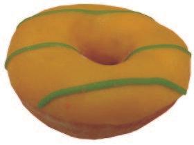Donuts amarillo - verde