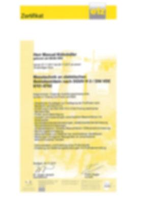 VDE 0701-0702, DGUV-V-3