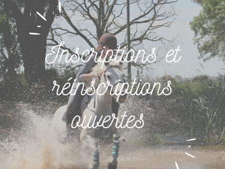 Inscriptions et réinscriptions