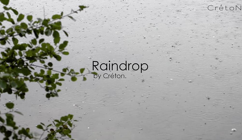 CRÉTON Raindrop regnfrakke