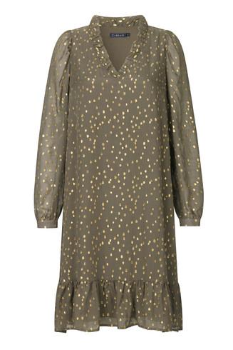 CRÉTON Anica silke kjole