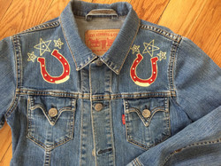 lucky horseshoe jacket