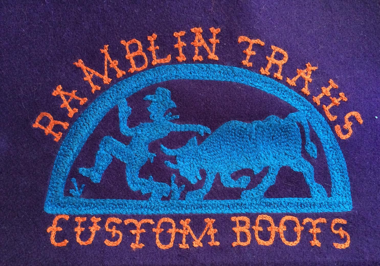 Rambling Trails Custom Boots