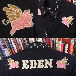 Custom embroidered western shirt