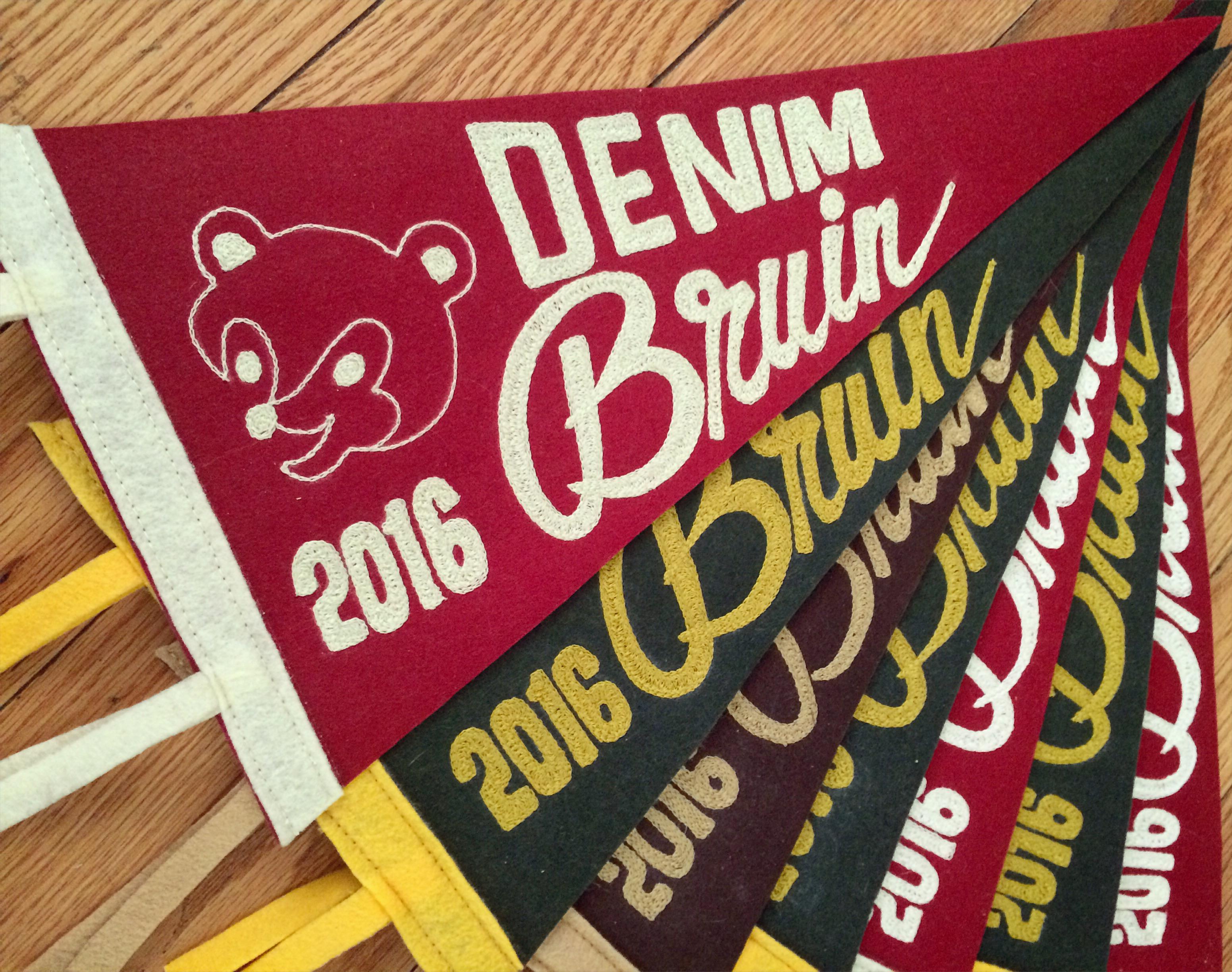 Denim Bruin 2016 pennant