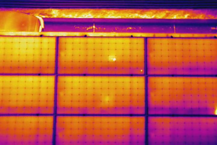 Infrared Solar Panel Inspection