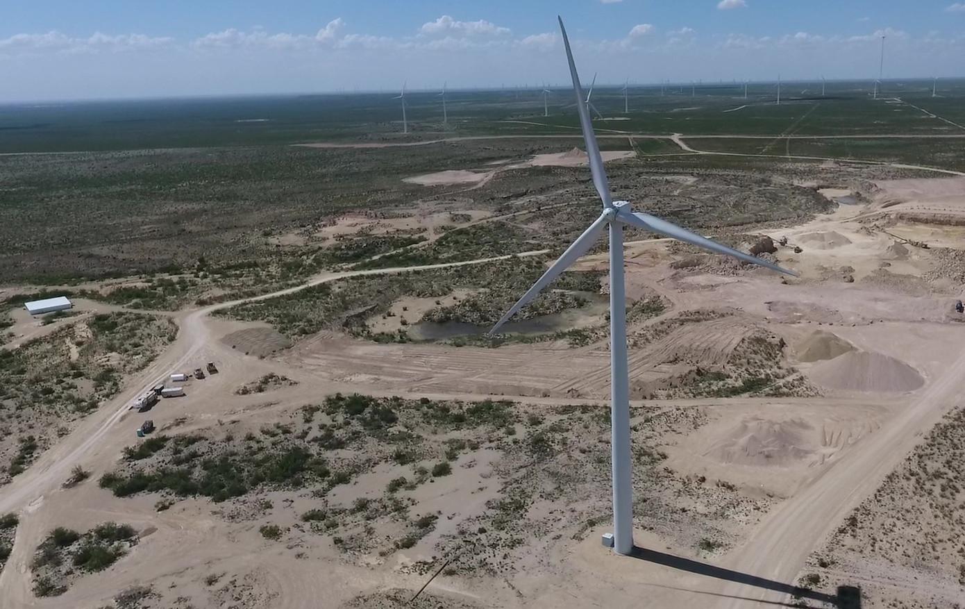 Wind Turbine Blade Mapping