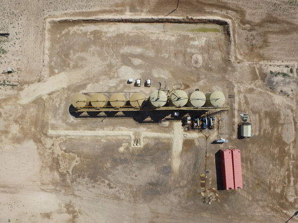 Oilfield Location Mapping