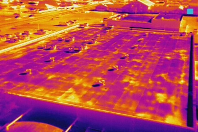 Thermal Roof Scan