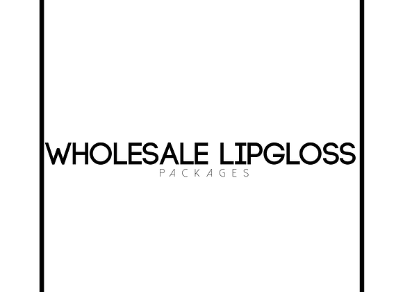 Wholesale lipgloss packages