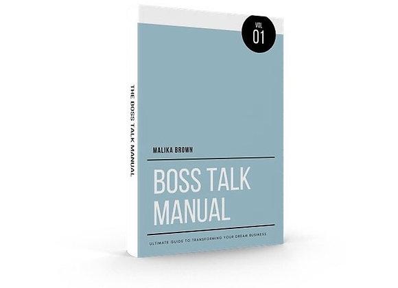 Boss Talk Manual 101