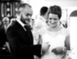 photographie de mariage nord noir et blanc