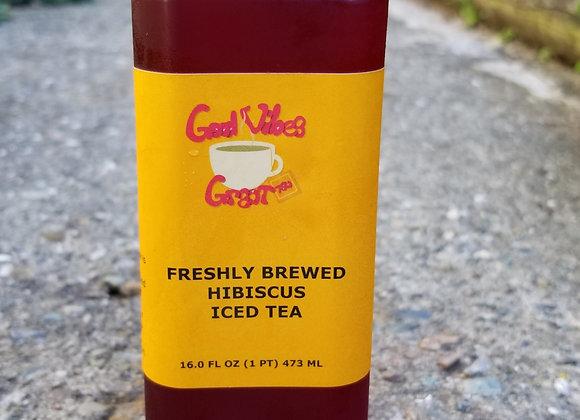 Organic Hibiscus Iced Tea