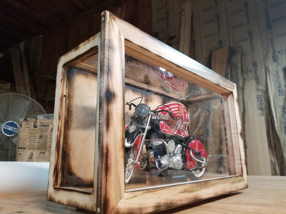 Motorcycle display