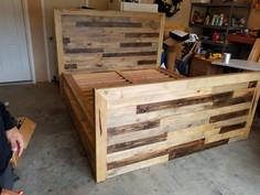 King Bed Storage