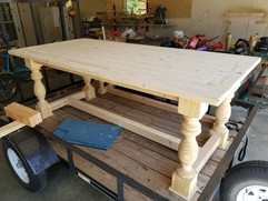 7x4 Dining table