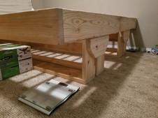 King modern bed