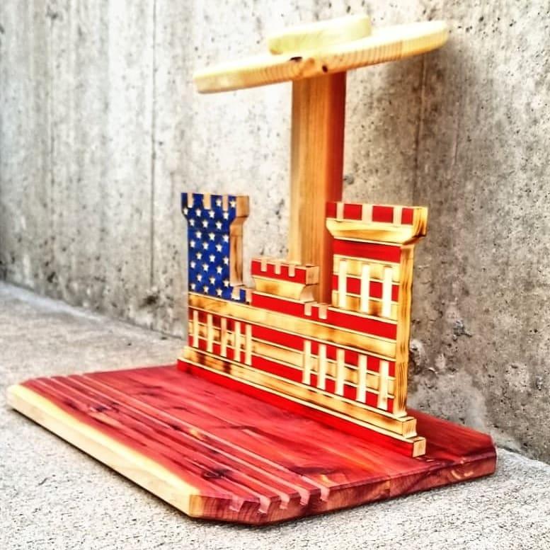engineer flag / aspen, cedar